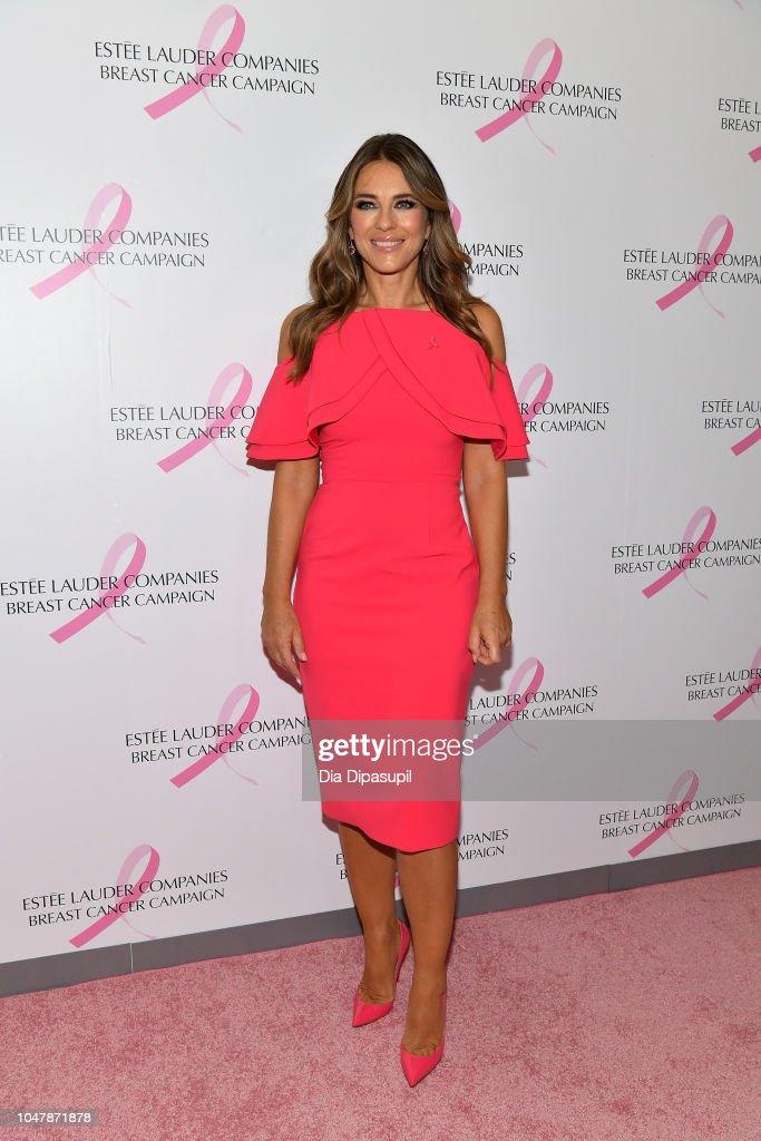 Estee Lauder 2018 Breast Cancer Campaign : Nachrichtenfoto