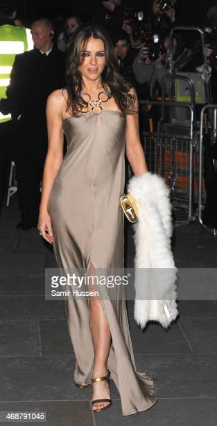 Elizabeth Hurley attends The Portrait Gala 2014 Collecting to Inspire at the National Portrait Gallery on February 11 2014 in London England