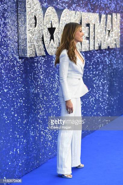 Elizabeth Hurley attends the Rocketman UK premiere at Odeon Leicester Square on May 20 2019 in London England