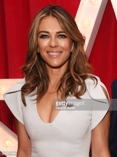 Elizabeth Hurley attends the World Premiere of 'Paddington 2' at Odeon Leicester Square on November 5 2017 in London England