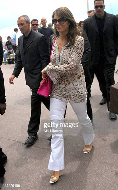 Elizabeth Hurley during 2006 Cannes Film Festival Seen Around Cannes Day 8 at Cannes in Cannes France