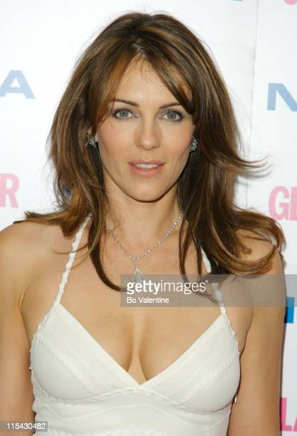Elizabeth Hurley during 2006 Glamour Women of the Year Awards Inside Arrivals at Berkeley Square in London Great Britain