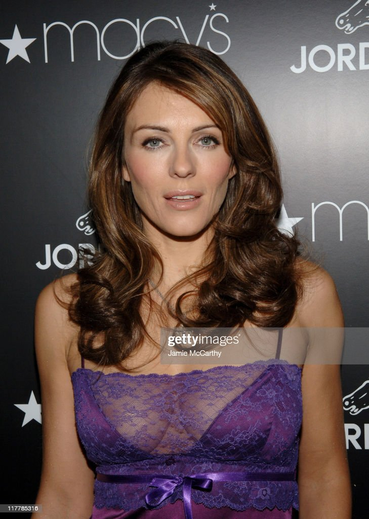 Elizabeth Hurley Launches Jordache at Macy's Herald Square