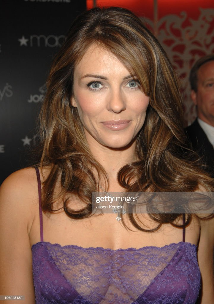Elizabeth Hurley Launches The Jordache Spring/Summer 2007 Collection at Macy's
