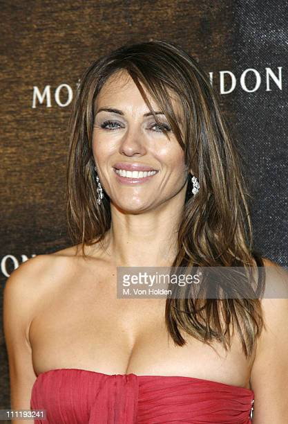 Elizabeth Hurley during Frederic Cumenal and Elizabeth Hurley Present the Moet Chandon Fabulous Fete at Liberty Island in New York Harbor New York...