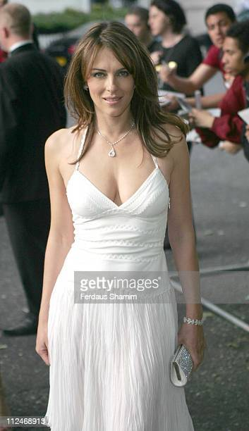 Elizabeth Hurley during Glamour Women of the Year Awards 2006 Outside Arrivals at Berkley Square in London Great Britain
