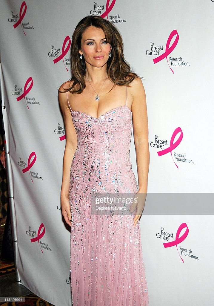Elizabeth Hurley during The Breast Cancer Research Foundation Presents 'The Very Hot Pink Party' - April 10, 2006 at Waldorf Astoria in New York City, New York, United States.