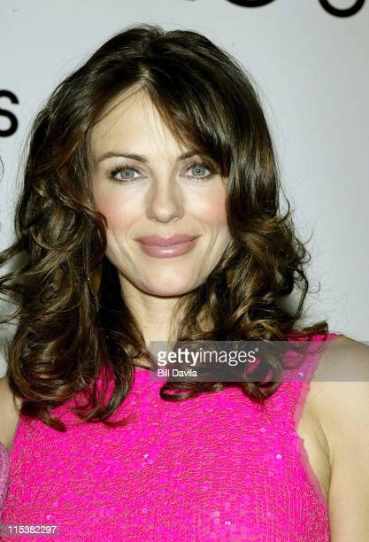 Elizabeth Hurley during The Launch of An Eye for Beauty to support the Breast Cancer Research Foundation at Bloomingdale's in New York City New York...