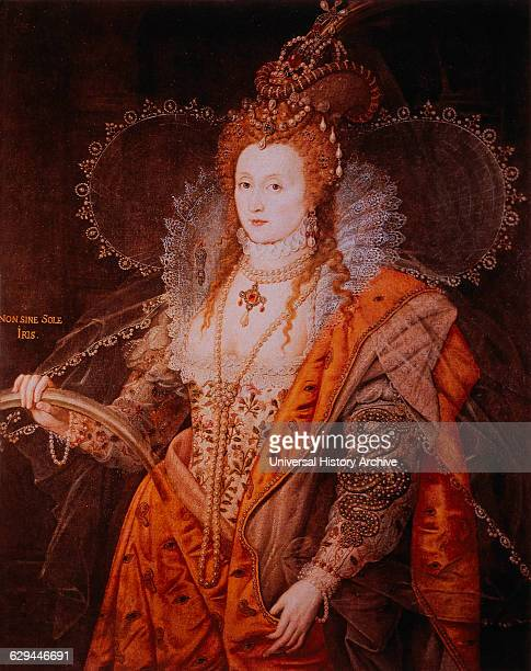 Elizabeth I Queen of England 15581603 Portrait Attributed to Isaac Oliver