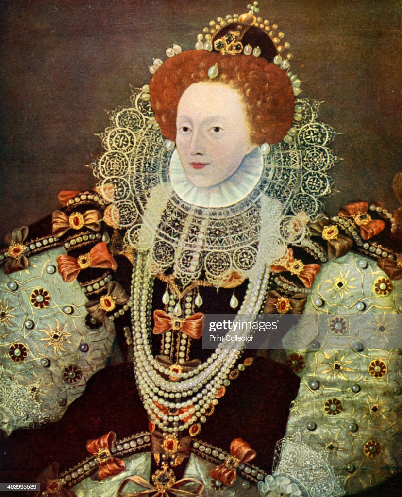 Elizabeth I, Queen of England and Ireland, c1588, (c1902-1905). : News Photo