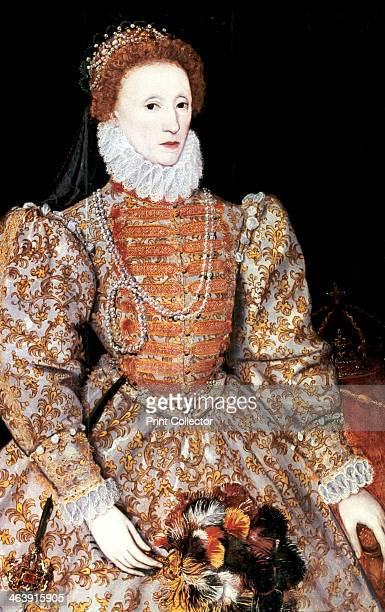 Elizabeth I Queen of England and Ireland c1588 The Darnley portrait artist unknown The last Tudor monarch Elizabeth I ruled from 1558 until 1603 From...
