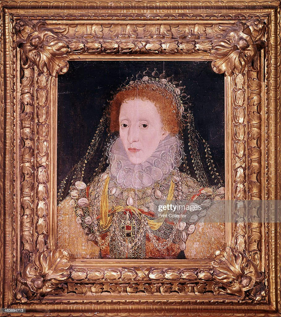 Elizabeth I, Queen of England and Ireland, c1580. : News Photo