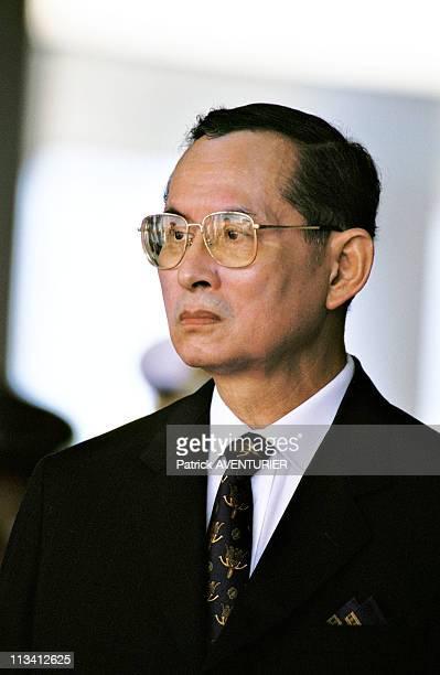 Elizabeth II In Thailand On October 28th1996 King Bhumibol