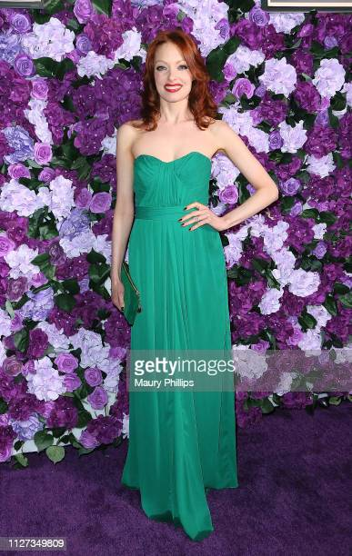 Elizabeth J Carlisle attends The Griot Gala Oscars After Party 2019 at The District by Hannah An on February 24 2019 in Los Angeles California