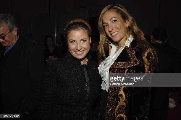 Elizabeth Jacoby and Tina Livanos attend SOLERNO PRESENTS A SPECIAL SCREENING OF A PASSION FOR GIVING A FILM BY ROBIN BAKER LEACOCK at FOUR SEASONS...