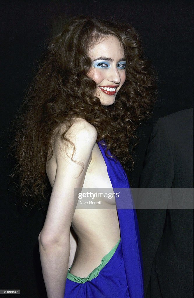 Elizabeth Jagger attends the 2003 Lancome Colour Design Awards at Old Billingsgate Market on November 20, 2003 in London.