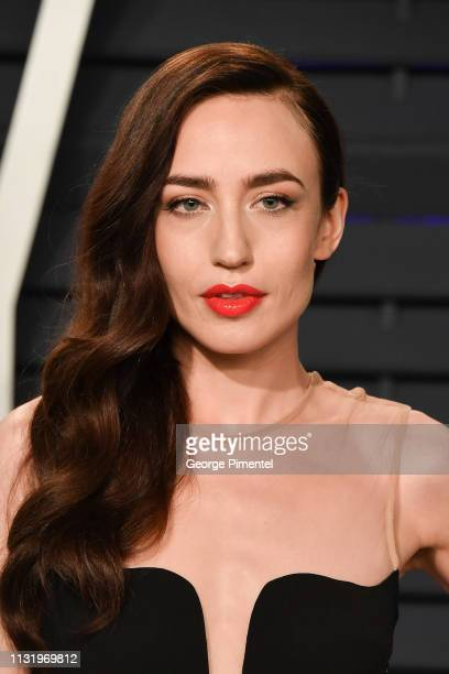Elizabeth Jagger attends the 2019 Vanity Fair Oscar Party hosted by Radhika Jones at Wallis Annenberg Center for the Performing Arts on February 24...