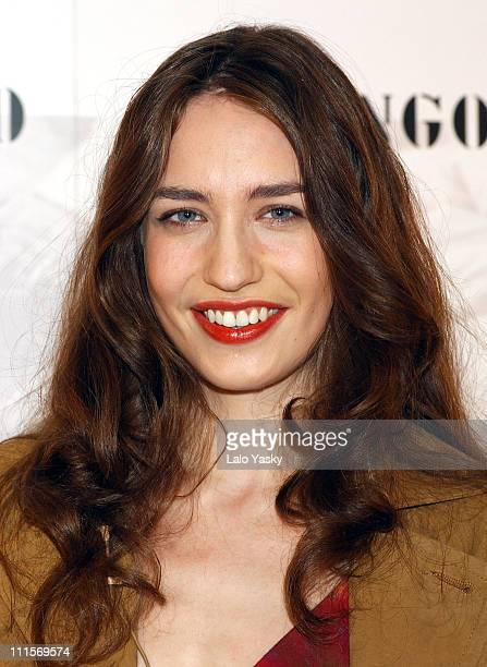 Elizabeth Jagger during Elizabeth Jagger Presented as New Face of Mango Spring/Summer 2005 Collection at Santo Mauro Hotel in Madrid Spain