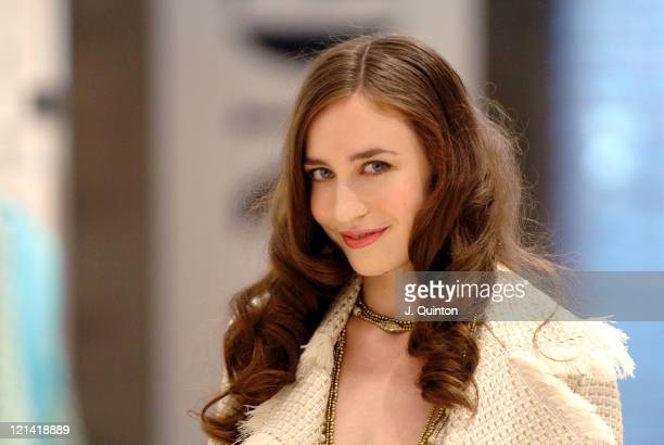 Elizabeth Jagger during Mango Launches Elizabeth Jagger as its New Face at Mango in London Great Britain
