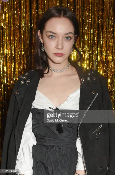 Elizabeth Jane Bishop attends the ALEXACHUNG Fantastic collection party on January 30 2018 in London England