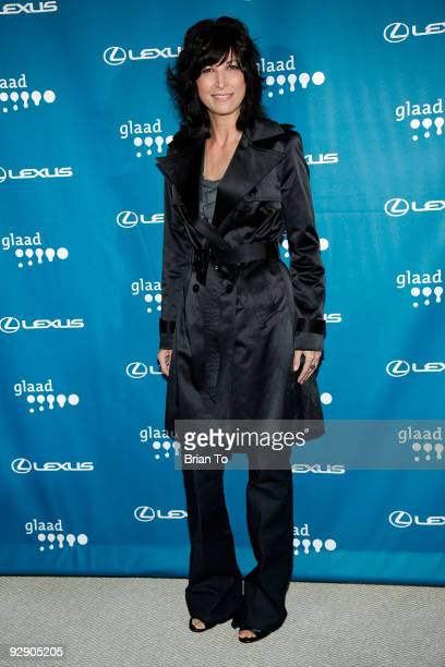 Elizabeth Keener attends the 12th Annual GLAAD Tidings Season's Greenings Benefit Fashion Show on November 8 2009 in Los Angeles California