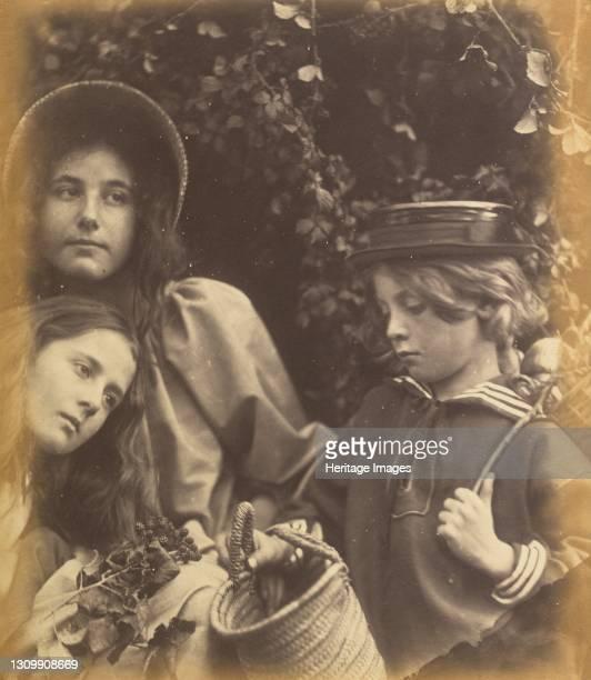 Elizabeth Keown, Kate Keown, and Freddy Gould, circa 1866-1868. Artist Julia Margaret Cameron. .