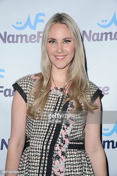 Elizabeth Kurpis attends the NameFacecom launch at No 8 on January 27 2016 in New York City