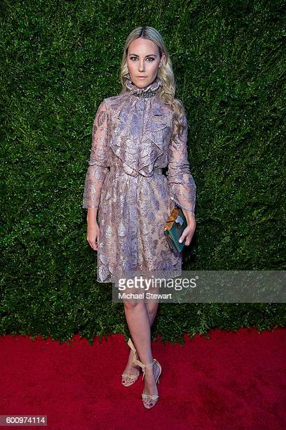 Elizabeth Kurpis attends the Saks Downtown x Vogue event at Saks Downtown on September 8 2016 in New York City