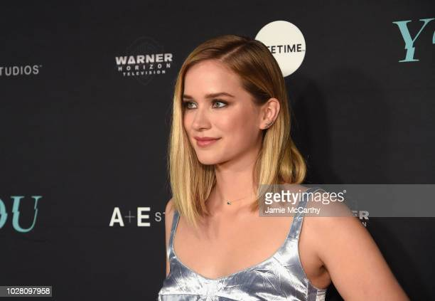 Elizabeth Lail attend the You Series Premiere Celebration hosted by Lifetime on September 6 2018 in New York City