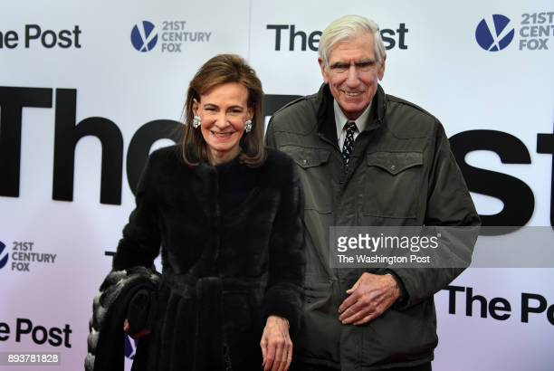 Elizabeth 'Lally' Weymouth attended the premiere with Boyden Gray The world premiere of the movie 'The Post' took place at the Newseum in Washington...