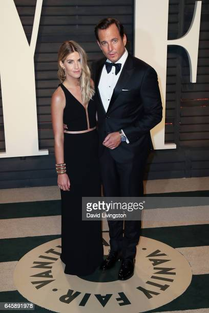 Elizabeth Law and actor Will Arnett attend the 2017 Vanity Fair Oscar Party hosted by Graydon Carter at the Wallis Annenberg Center for the...