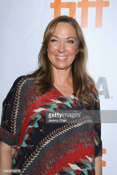 Elizabeth Marvel attends the The Land Of Steady Habits premiere during 2018 Toronto International Film Festival at Roy Thomson Hall on September 12...