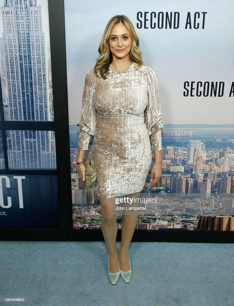 'Second Act' World Premiere : News Photo