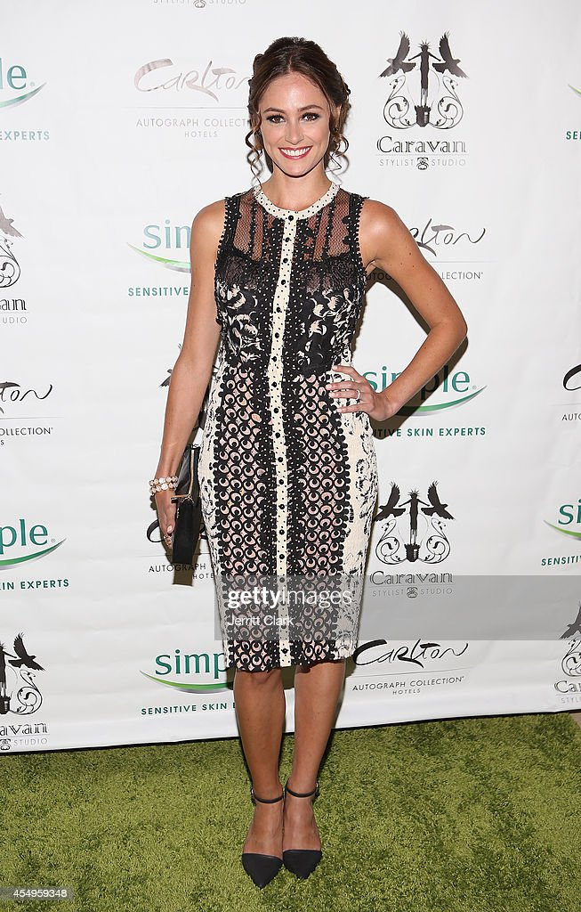 Elizabeth Masucci attends the Simple Skincare & Caravan Stylist Studio Fashion Week Event on September 7, 2014 in New York City.