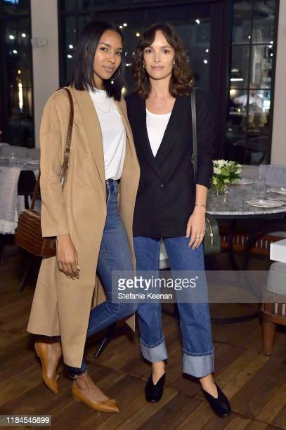 Elizabeth Mathis and Jodi Balfour as Cuyana x RAD Host Panel and Dinner in Honor of Future Coalition at The H Club Los Angeles on October 30 2019 in...