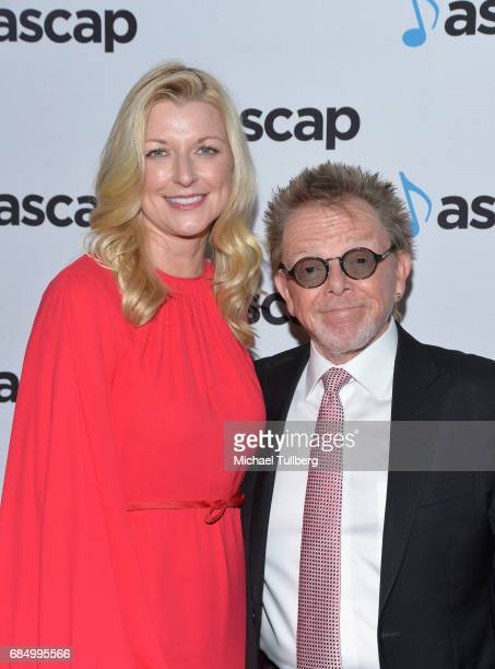 Elizabeth Matthews and ASCAP President Paul Williams attend the 34th Annual ASCAP Pop Music Awards at The Wiltern on May 18 2017 in Los Angeles...