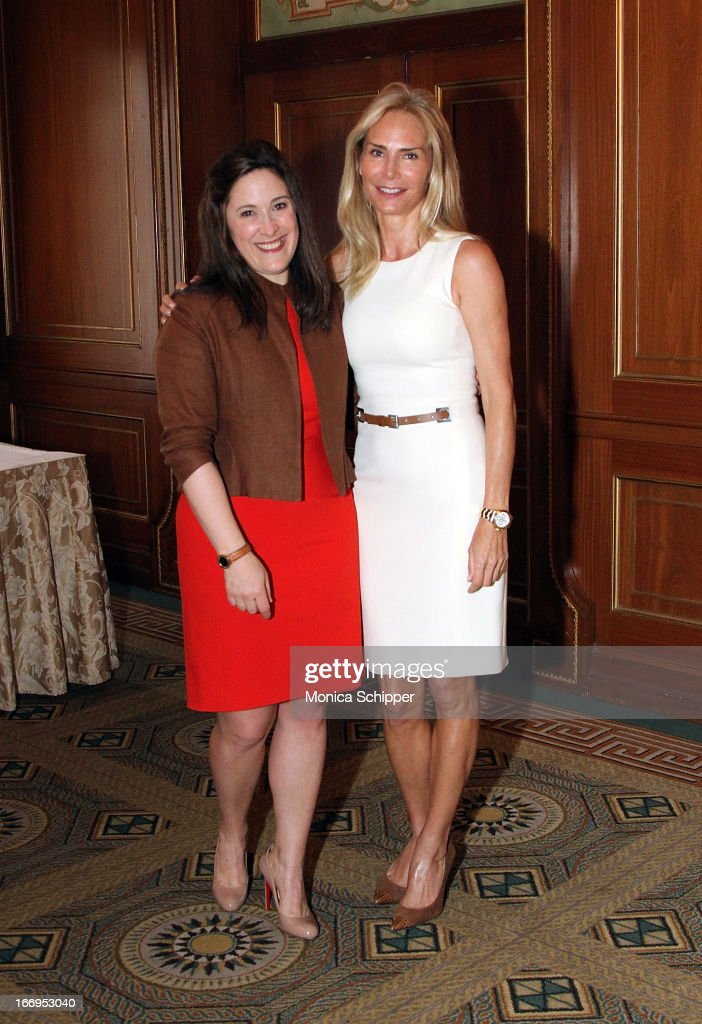 Elizabeth Mayhew and Valesca Guerrand-Hermes attend The New York Society For The Prevention Of Cruelty To Children's 2013 Spring Luncheon at The Pierre Hotel on April 18, 2013 in New York City.