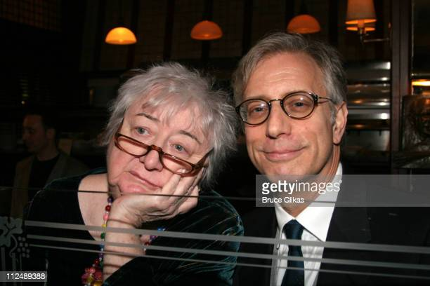 Elizabeth McCann producer and Jay Weiss during Opening Night of Edward Albee's revival of Who's Afraid of Virginia Woolf on Broadway at The Longacre...