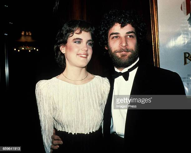 Elizabeth McGovern and costar Mandy Patinkin attend the Premiere of Ragtime circa 1981 in New York City