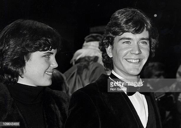 Elizabeth McGovern and Timothy Hutton during Taps New York City Premiere at Ziegfeld Theater in New York City New York United States