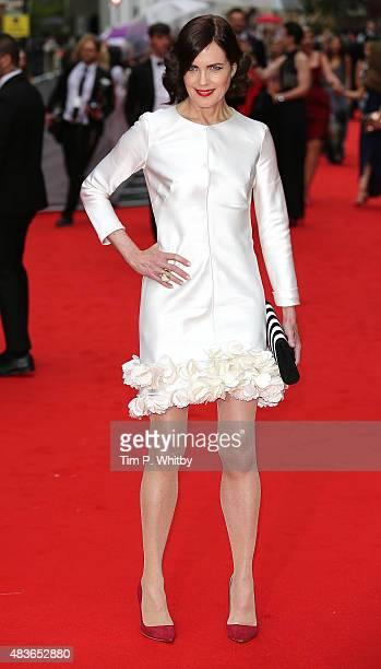Elizabeth McGovern attends as BAFTA celebrate 'Downton Abbey' at Richmond Theatre on August 11 2015 in Richmond England