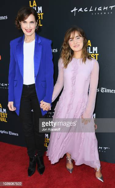 Elizabeth McGovern attends the 2018 LA Film Festival 'The Chaperone' Premiere at ArcLight Culver City on September 23 2018 in Culver City California