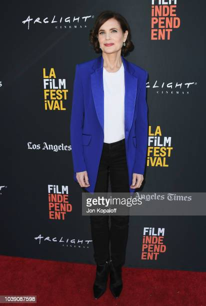 Elizabeth McGovern attends the 2018 LA Film Festival The Chaperone Premiere at ArcLight Culver City on September 23 2018 in Culver City California