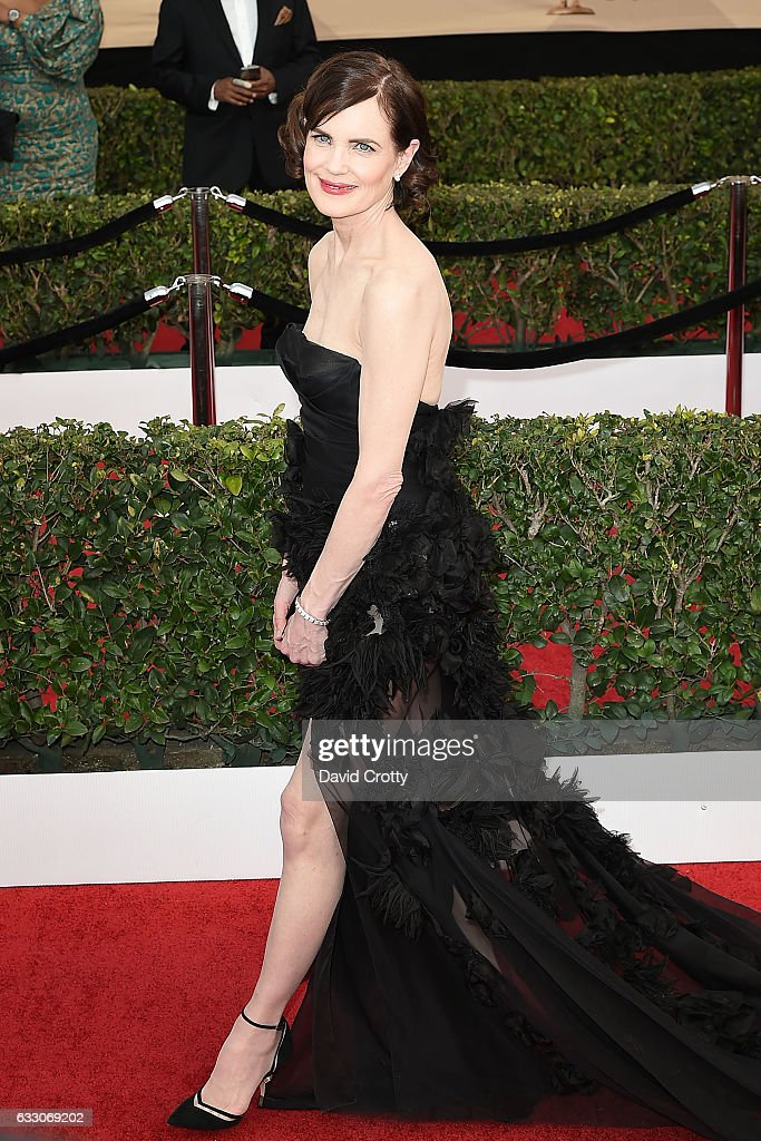 Elizabeth McGovern attends the 23rd Annual Screen Actors Guild Awards at The Shrine Expo Hall on January 29, 2017 in Los Angeles, California.