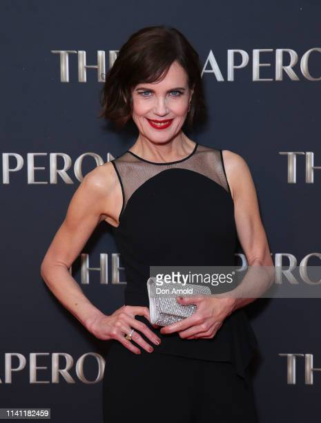 Elizabeth McGovern attends The Chaperone Australian Premiere on April 08, 2019 in Sydney, Australia.