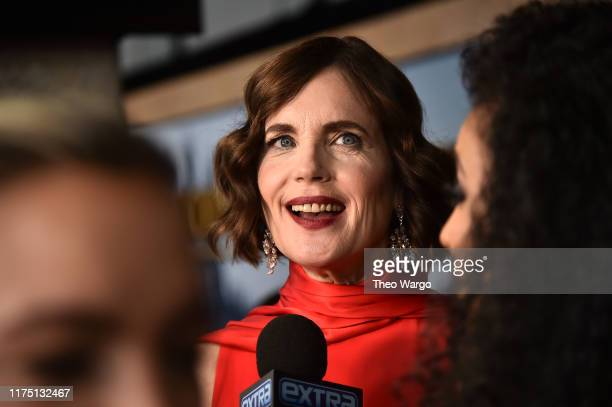 "Elizabeth McGovern attends the ""Downton Abbey"" New York Premiere at Alice Tully Hall, Lincoln Center on September 16, 2019 in New York City."