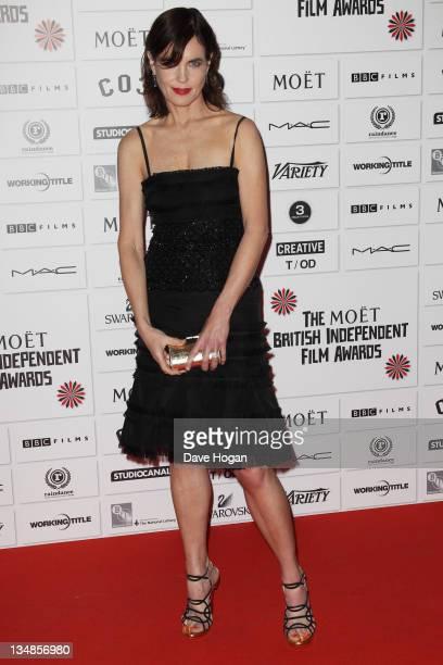Elizabeth McGovern attends The Moet British Independent Film Awards 2011 at Old Billingsgate Market on December 4 2011 in London United Kingdom
