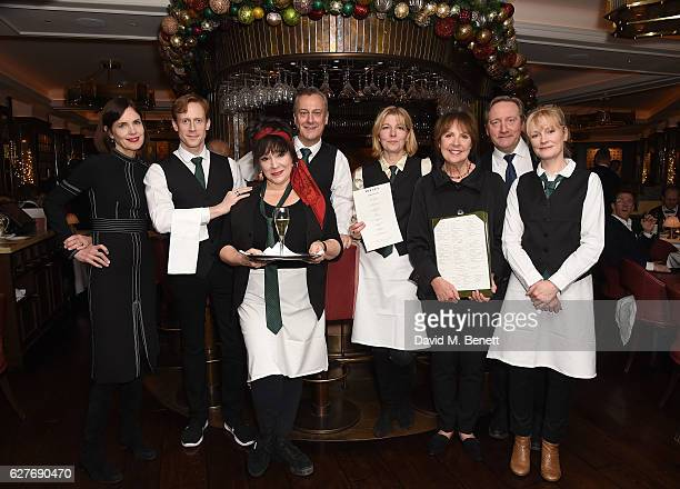 Elizabeth McGovern Edward Watson Harriet Thorpe Stephen Tomkinson Jemma Redgrave Dame Penelope Wilton Neil Dudgeon and Claire Skinner attend One...