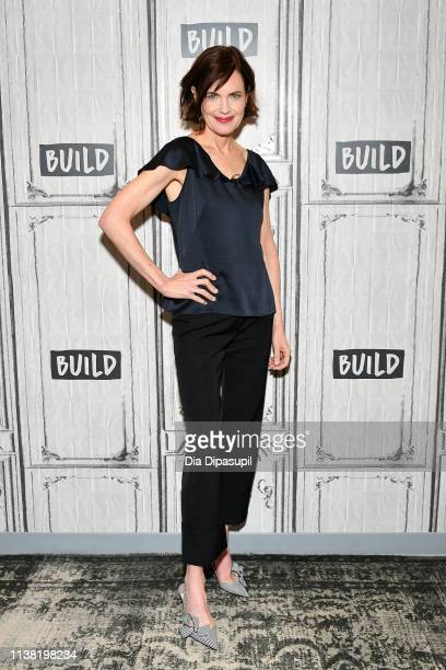 "Elizabeth McGovern visits the Build Series to discuss ""The Chaperone"" at Build Studio on March 25, 2019 in New York City."