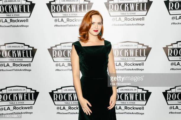 Elizabeth McLaughlin at Rockwell Table and Stage on December 05 2019 in Los Angeles California